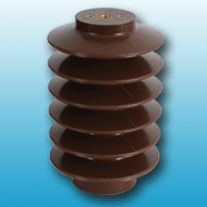 Medium voltage cycloaliphatic insulator for outdoor use